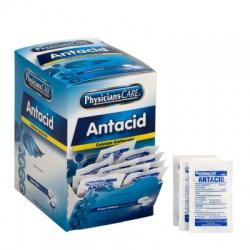 Antacid tablets (sugar free), 2 per pack - 100 per box Case of 12 @ $5.99 ea.