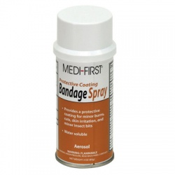 Spray on bandage, 3 oz. can Case of 12 @ $4.95 ea.