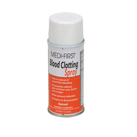 Blood clotting spray, 3 oz.
