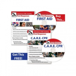 BOGO: THE FIRST AID VIDEO + C.A.R.E.™ CPR DVDS