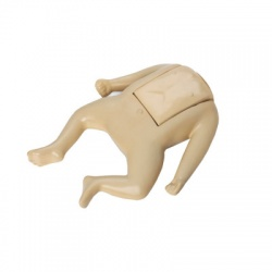 Tan Coated Infant Manikin Assembly