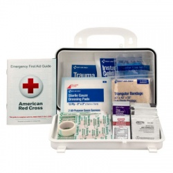 25 PERSON BASIC OSHA FIRST AID KIT, FIRST AID ONLY