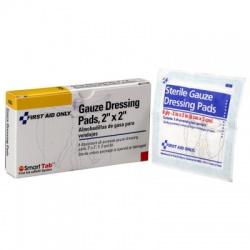 "2""x2""Gauze pad, 3 packs of 2 pads/Case of 6 @ $1.06 ea."
