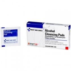 Alcohol Cleansing Pad - 10 Per Box /Case of 10 $1.03 each