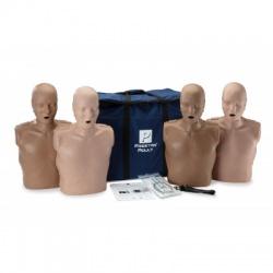 Prestan Adult CPR Manikin w/Monitor - 4 Pack - Medium Skin