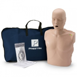 Prestan Adult CPR Manikin w/ Monitor - Medium Skin
