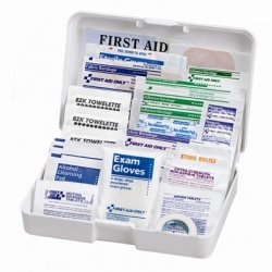 Auto First Aid Kit, 41 Pieces - Medium Case of 20 @ $6.98 ea.