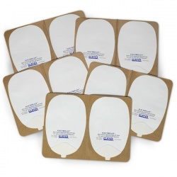 Foam Electrode Peel-Off Pads - Heartstream Style