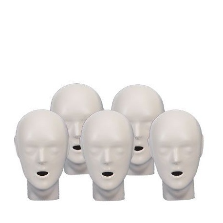 5-pack Adult/Child heads - Blue