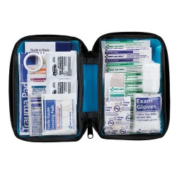 81 Piece Small, All Purpose, Softsided First Aid Kit Case of 12 @ $10.50 ea.