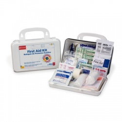 Large 10 Person, 62 Piece Bulk First Aid Kit/Case of 12 $18.80 ea.