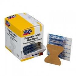 Fingertip fabric bandage - 100 bandages per dispenser box