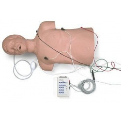 Defibrillation / CPR Training Manikin w/ Carry Bag