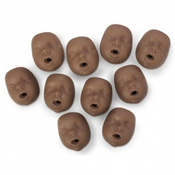 Kim/Kate AfricanAmerican Channel Mouth/Nose Piece 10 pk
