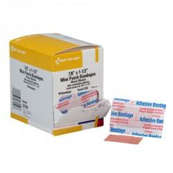 """7/8""""x1-1/2"""" Heavy woven mini patch bandage - 50 per box"""