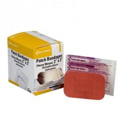 "2""x3"" Heavy woven patch bandage - 25 per box"