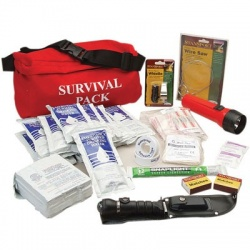 Survival Fanny Pack - 80 pieces