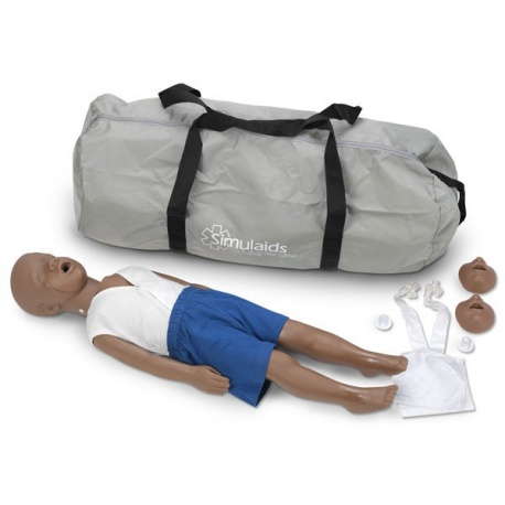 Kyle™ 3-Year-Old CPR Manikin - African-American