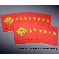 Lock-Out/Tag-Out Booklet (pack of 15)