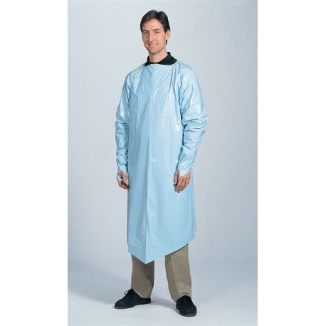 Gown w/ Full Sleeves, Disposable - 1 per box