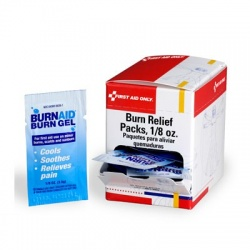 Burn relief 3.5 gm pack - 25 per box