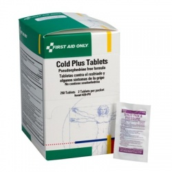 Cold Plus Tablets, No PSE - 250 per box