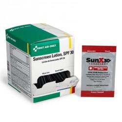 SUNX®  sunscreen pouch, SPF 30, 7.5ml - 50 per box