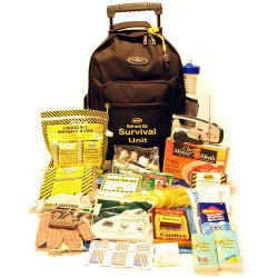 Roll and Go Survival Kit on Wheels - One Person