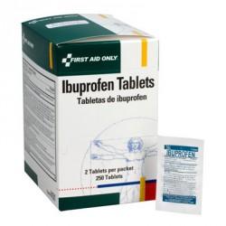 Ibuprofen tablets, 2 per pack - 250 per box