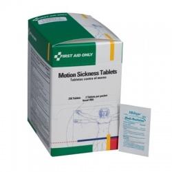 Motion sickness tablets, 2 per pack - 250 per box