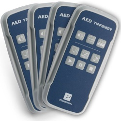Prestan Professional AED Trainer Remote, 4 Pack