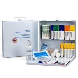 50 Person Bulk First Aid Kit - metal