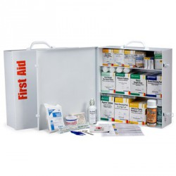 3 Shelf Industrial First Aid Station