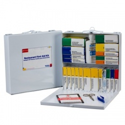 Restaurant First Aid Kit - metal