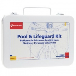 Pool & Lifeguard First Aid Kit - metal