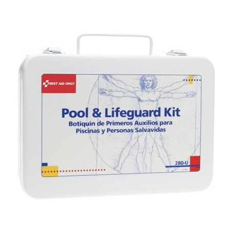 Pool & Lifeguard First Aid Kit - metal