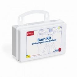 10 Unit Burn First Aid Kit - plastic