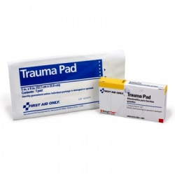 "Trauma Pad, 5""x9"" - 1 per box/Case of 6 @ $1.04 ea."
