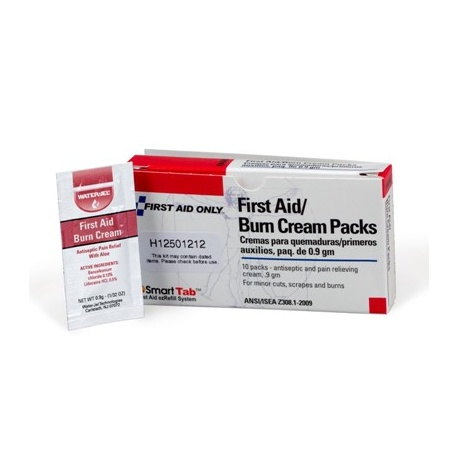 First Aid/Burn Cream - 10 per box/Case of 6 @ $1.99 ea.