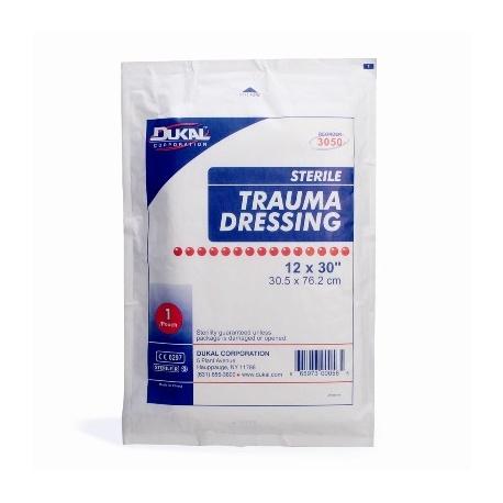 """12""""x30"""" Multi-trauma dressing - 25 per case"""