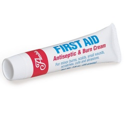 First aid/burn cream, 7/8 oz. plastic tube - 1 each