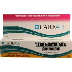 Triple antibiotic ointment, 1 oz. tube