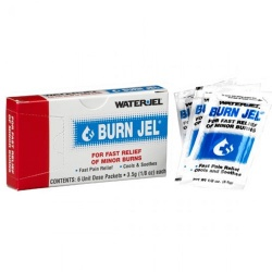 Water Jel Burn Relief - 3.5 gram - 6 Per Box Case of 100 @ $4.75 ea.
