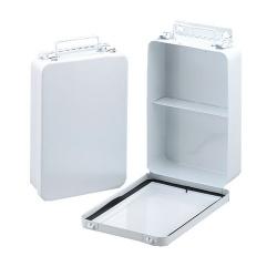 16 Unit, 1 Shelf, Hinged w/Gasket, vertical - 1 each