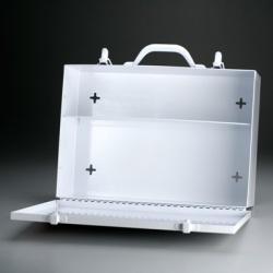 2 Shelf Industrial Cabinet w/Swing Down Door