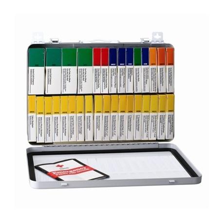 36 Unit, 194 piece unitized ANSI kit, metal case w/ gasket