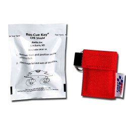 Rescue Breather™ / key chain, red