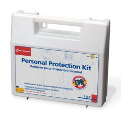 Personal protection kit w/ 6-piece CPR pack