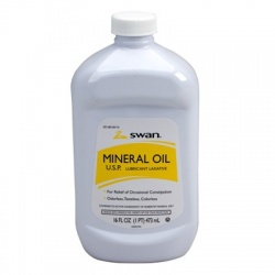 Mineral Oil, heavy, 16 oz.