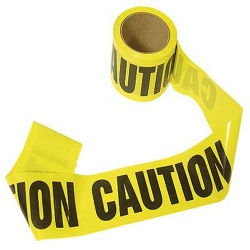 Barricade Tape 1000' ( Caution)